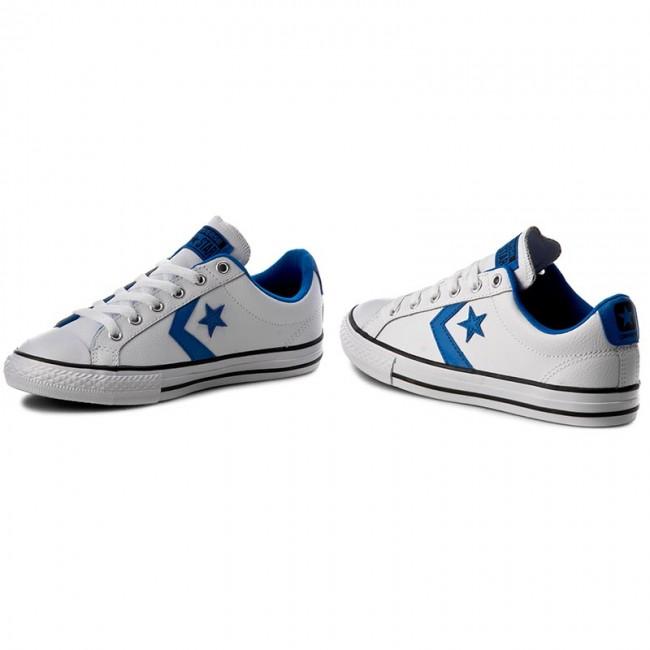 0e1097db4e10 Sneakers CONVERSE - Star Player Ev Ox 656146C White Soar Black ...