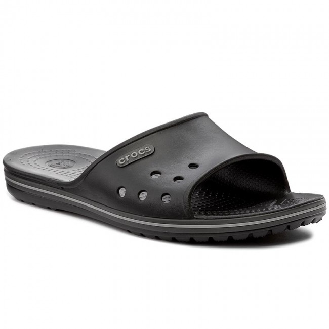 517e84319 Slides CROCS - Crocband II Slide 204108 Black Graphite - Casual ...