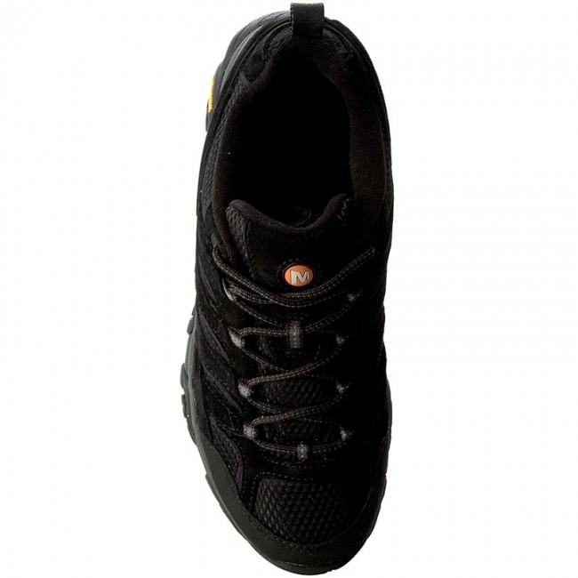 dedcb2eb9 Trekker Boots MERRELL - Moab 2 Vent J06017 Black Night - Trekker boots - Low  shoes - Men s shoes - www.efootwear.eu