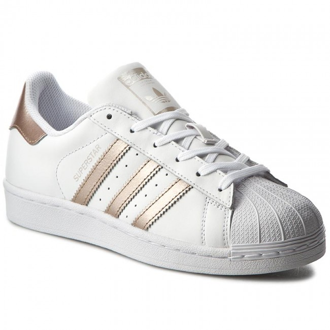 Shoes adidas - Superstar W BA8169 Ftwwht Supcol Ftwwht - Sneakers ... 0122a5af70