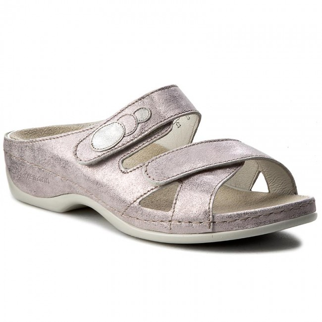 Slides BERKEMANN  Felia 01023 RoseSilber 673  Casual mules  Mules  Mules and sandals  Womens shoes       0000199446719