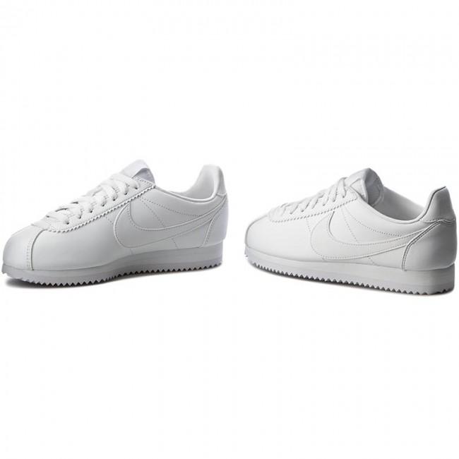 662e09a03f40b2 Shoes NIKE - Classic Cortez Leather 807471 102 White White ...