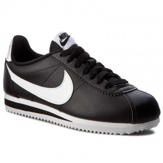 premium selection 97d57 ab91b Shoes NIKE - Classic Cortez Leather 807471 010 Black White White