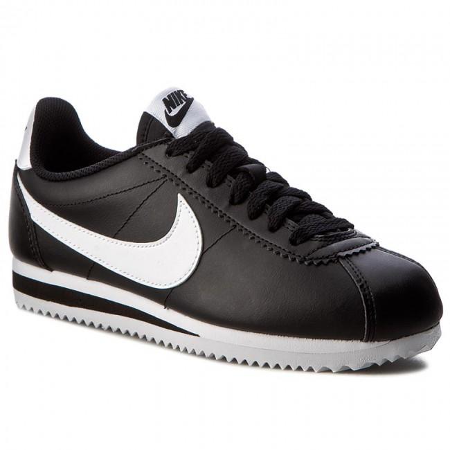 premium selection 2701f 0ff8b Shoes NIKE - Classic Cortez Leather 807471 010 Black White White