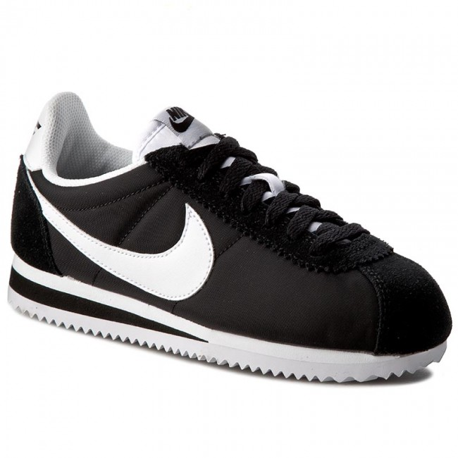 cd91cba1b3 Shoes NIKE - Classic Cortez Nylon 749864 011 Black White - Sneakers ...