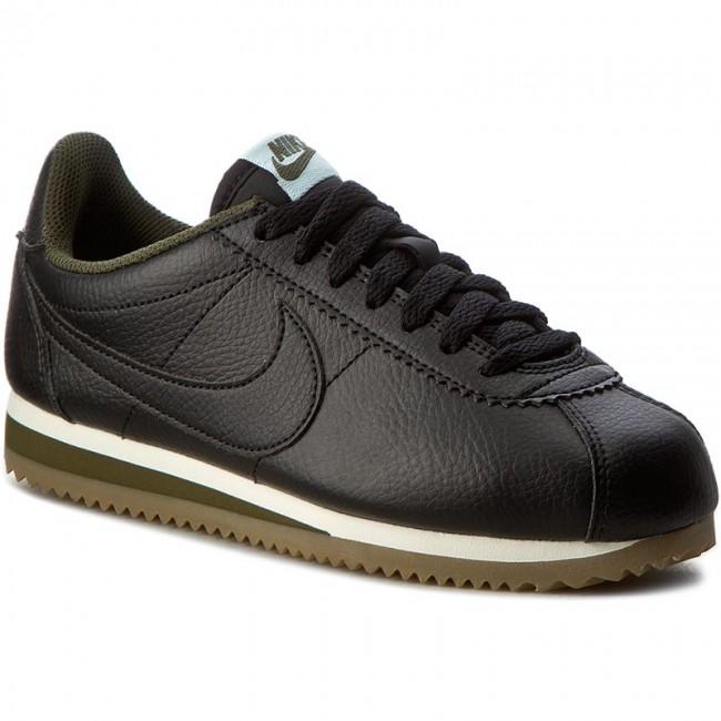 002cbac388ed43 Shoes NIKE - Classic Cortez Leather 807471 005 Black Black Legion Green