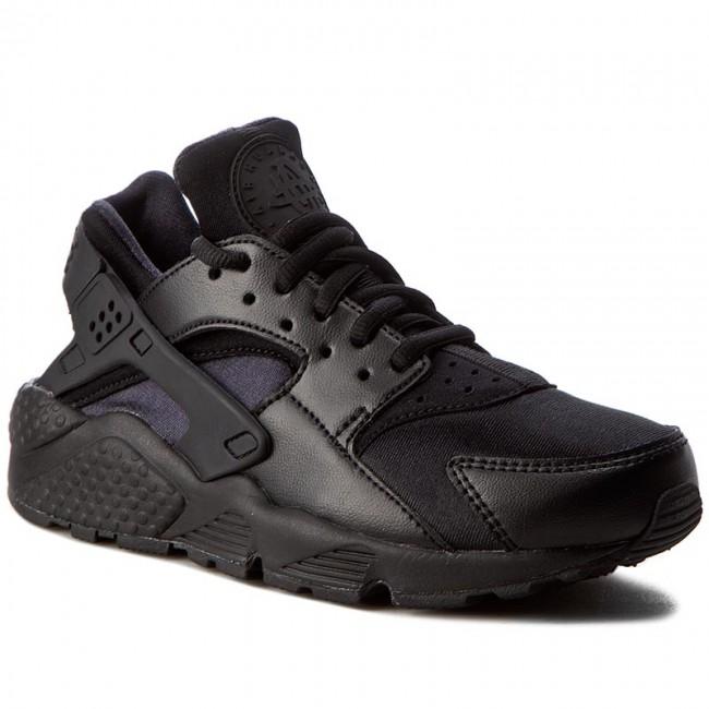 new style f6f6c 5160e Shoes NIKE - Air Huarache Run 634835 012 Black/Black - Sneakers ...