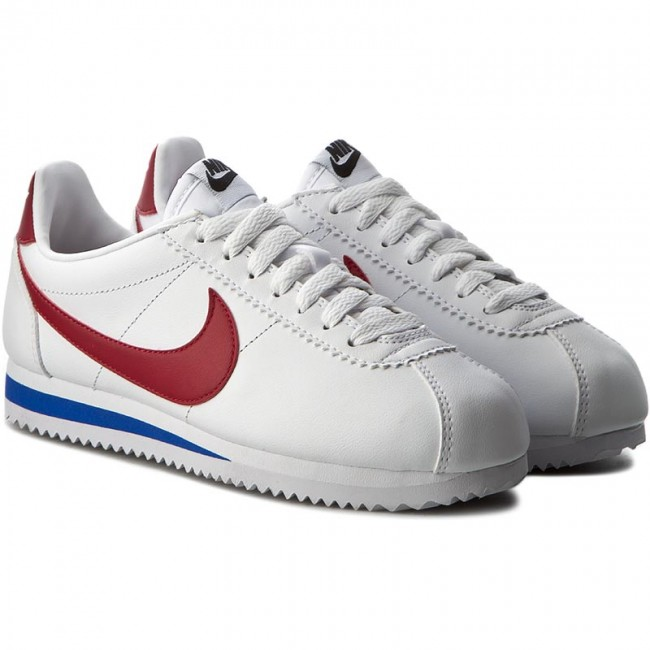 645d02b4d Shoes NIKE - Classic Cortez Leather 807471 103 White/Varsity Red - Sneakers  - Low shoes - Women's shoes - efootwear.eu
