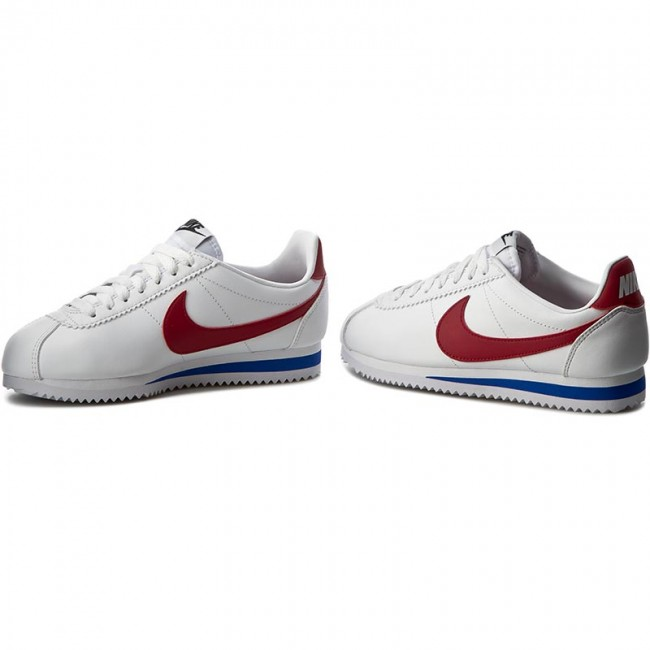9d80c44a0711 Shoes NIKE - Classic Cortez Leather 807471 103 White Varsity Red ...