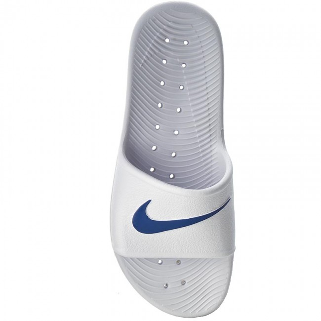 490a8eed7 Slides NIKE - Kawa Shower 832528 100 White Blue Moon - Clogs and mules -  Mules and sandals - Men s shoes - www.efootwear.eu