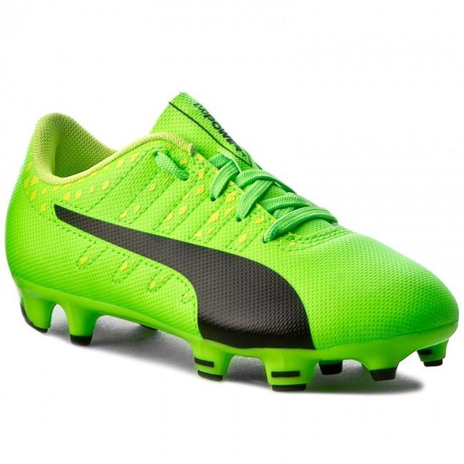 2f5e447a7 Shoes PUMA - EvoPower Vigor 4 Fg Jr 103972 01 Green/Black/Yellow ...