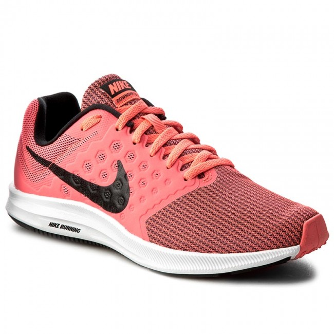 Shoes NIKE - Downshifter 7 852466 600 Hot Punch Black White - Indoor ... e9a993a0dcd