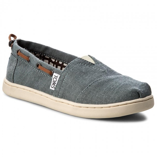 shoes toms bimini 10007506 chambray slided shoes low shoes