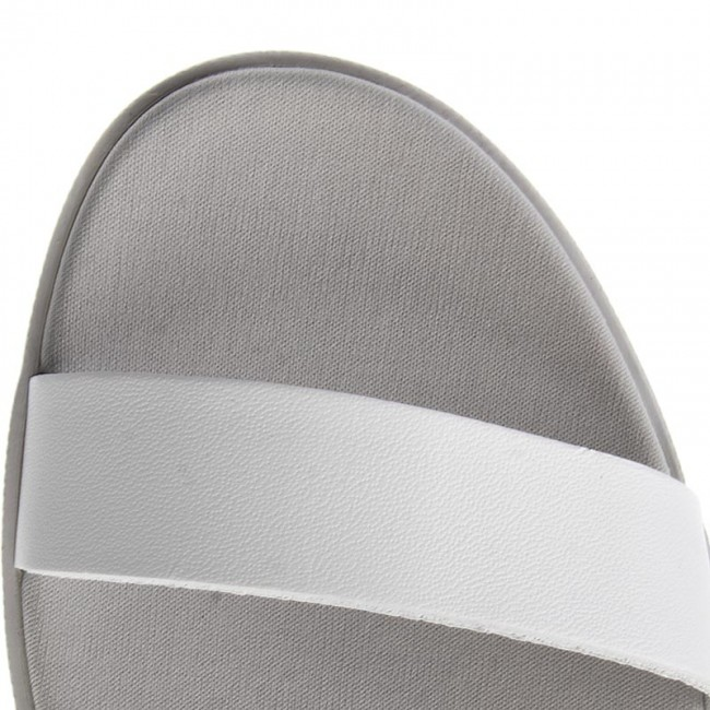 94fed6b795041 Slides LACOSTE - Natoy Sandal 117 1 CAW 7-33CAW10242Q5 Lt Gry Wht - Casual  mules - Mules - Mules and sandals - Women s shoes - www.efootwear.eu