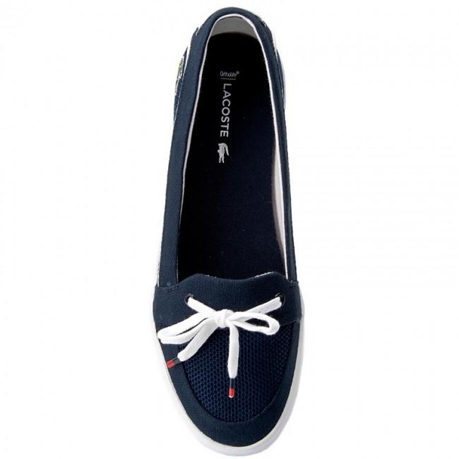 e4c991adad5af5 Plimsolls LACOSTE - Lancelle Boat 117 1 Caw 7-33CAW1033003 Nvy - Sneakers -  Low shoes - Women s shoes - www.efootwear.eu