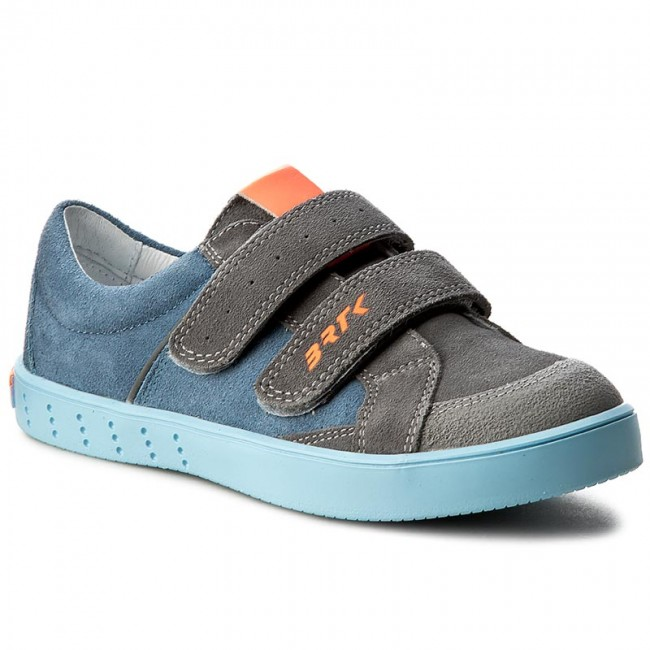 chaussures geox - j un munfrey b. un j j744ba 0bu11 c0069 d grey / royal - velcro - bas chaussures chaussures - petit - enfants 6b241d