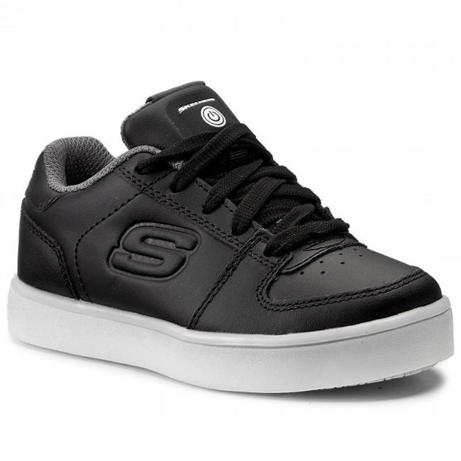Shoes SKECHERS - Elate 90601L BLK Black - Laced shoes - Low shoes ... 272bb3cb61