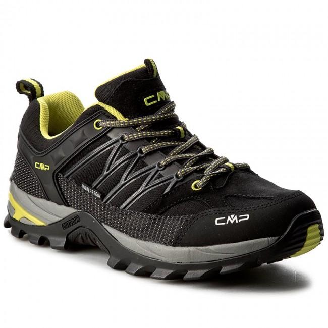 CMP RIGEL LOW SHOES WP - Hiking shoes - nero rOy5iTTDXR