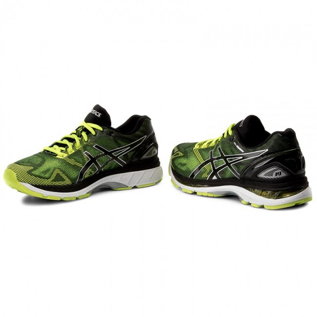 Shoes ASICS - Gel-Nimbus 19 T700N Black Safety Yellow Silver 9007 ... 207adceb26dba