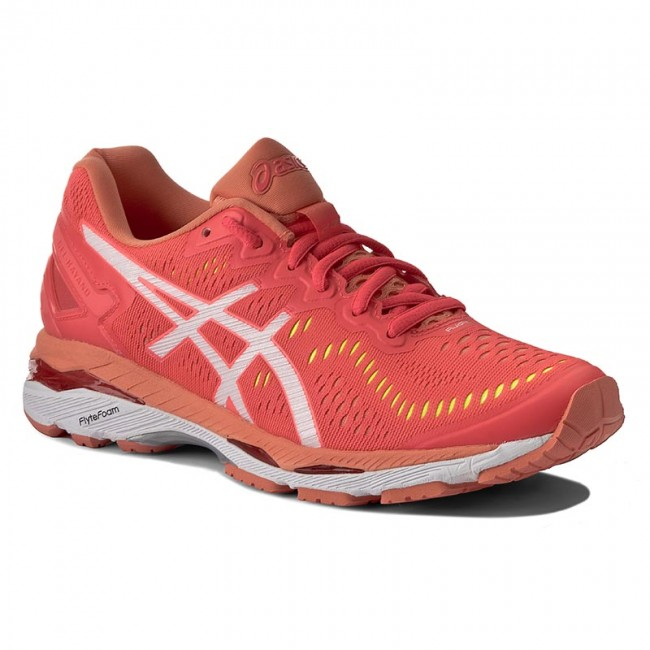 Shoes ASICS - Gel-Kayano 23 T696N Diva Pink White Coral Pink 2001 - Indoor  - Running shoes - Sports shoes - Women s shoes - www.efootwear.eu ee9480fc17