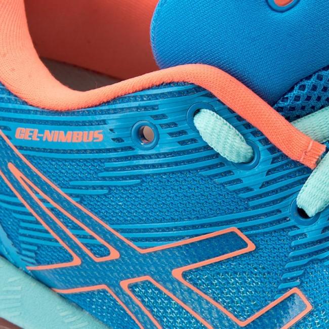 70dff0d627be Shoes ASICS - Gel-Nimbus 19 T750N Diva Blue Flash Coral Aqua Splash ...