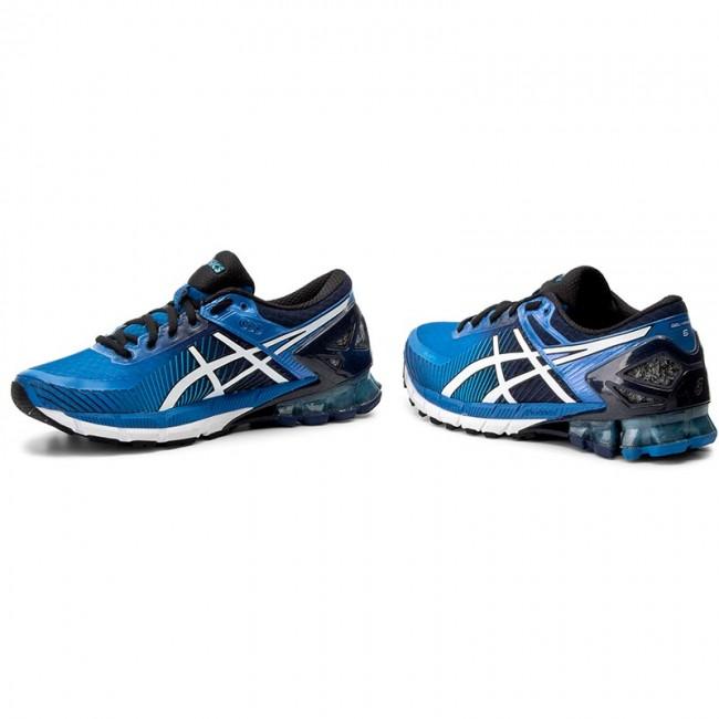 Shoes ASICS Gel Kinsei 6 T644N Electric BlueOff WhiteIsland Blue 4200