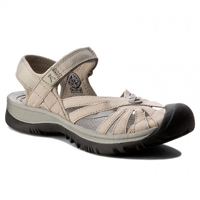 c4d85889f6a Sandals KEEN - Rose Sandal 1010998 Aluminium Neutral Gray - Casual ...