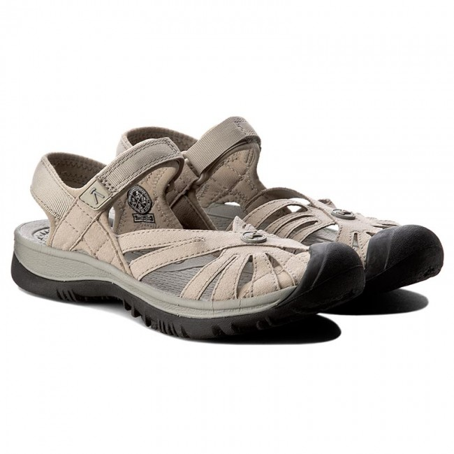 d4ae568c803 Sandals KEEN - Rose Sandal 1010998 Aluminium Neutral Gray - Casual sandals  - Sandals - Mules and sandals - Women s shoes - www.efootwear.eu