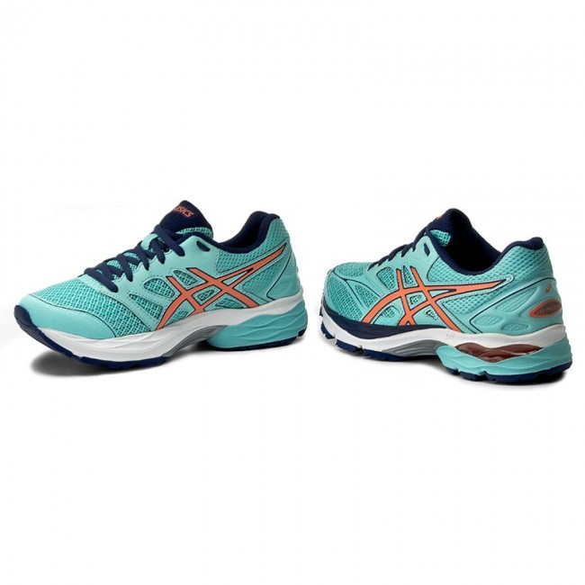 Aqua ASICS Pulse 8 SplashFlash Blue T6E6N CoralIndigo Shoes Gel qXSwAdSH