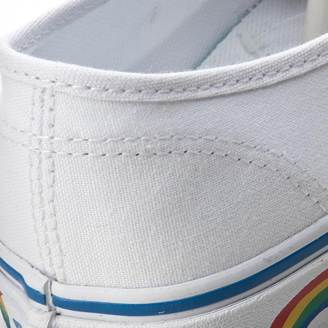 Plimsolls VANS - Authentic VN0A38EMMQC (Rainbow Tape) True White 14807291a