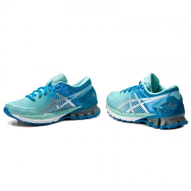 7bfe5085ae2f Shoes ASICS - Gel-Kinsei 6 T694N Diva Blue Silver Aqua Splash ...
