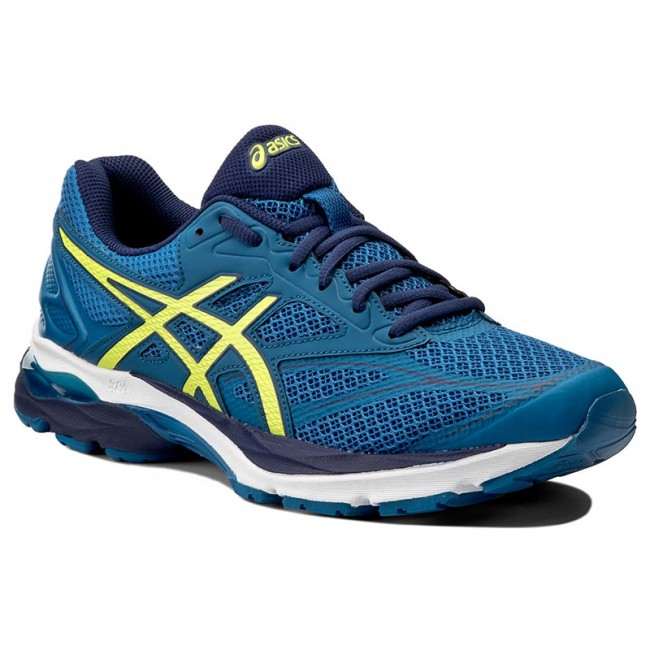 ASICS GEL-PHOENIX 9 - Neutral running shoes - deep ocean/flash yellow