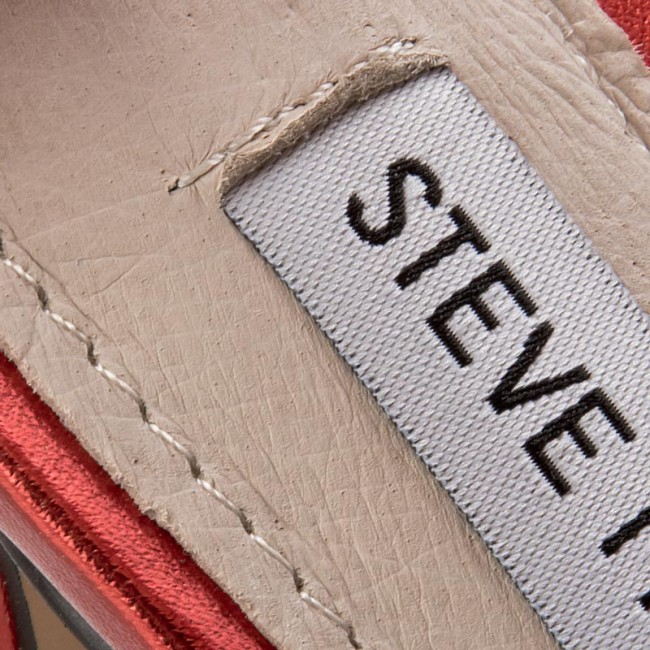 e3a178a8982 Sandals STEVE MADDEN - Stecy Sandal 91000080-0W0-07004-03012 Red Metallic