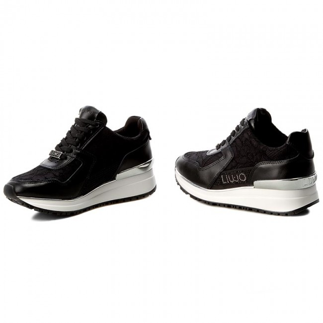 Sneakers LIU JO Running Asami S17157 P0280 Nero 22222