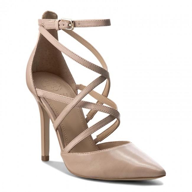 054a778f904 Sandals GUESS - Belen FLBLN2 LEA08 CREAM - Elegant sandals - Sandals ...