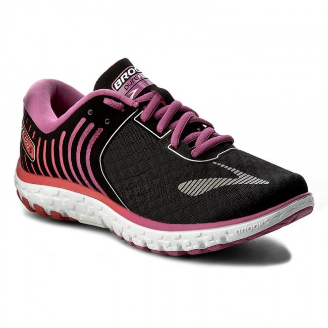 Shoes BROOKS - PureFlow 6 120237 1B 056 Black Rose Violet ... 88c8694d1