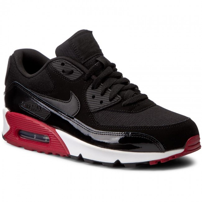 e423f02b19 Shoes NIKE. Air Max 90 Essential 537384 066 Black/Black/Gym Red/White