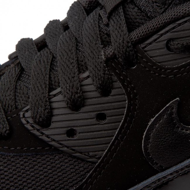 super popular 112f5 ea8d9 Shoes NIKE - Air Max 90 Essential 537384 066 Black Black Gym Red