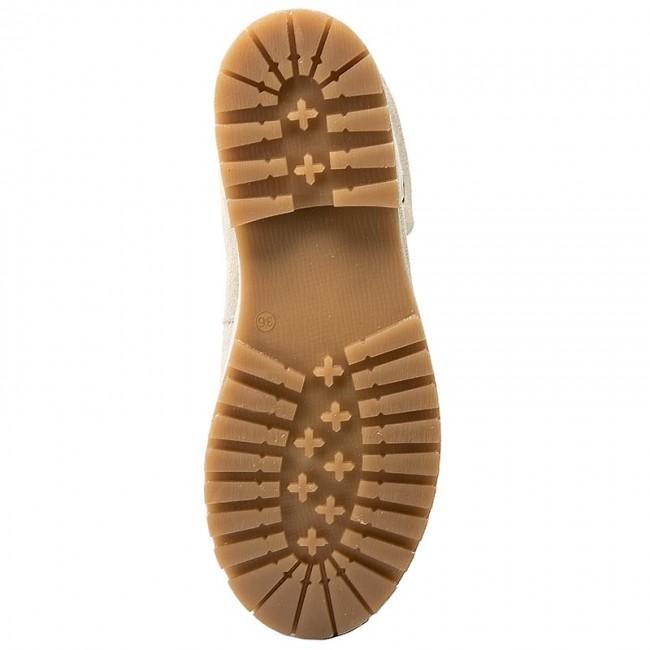 Hiking Boots TAMARIS - 1-26254-29 Cream 460 - Trekker boots - High boots  and others - Women s shoes - www.efootwear.eu cd73ed43bb