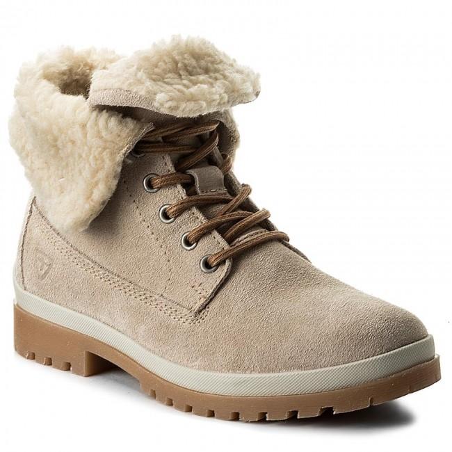 Hiking Boots TAMARIS - 1-26254-29 Cream 460 - Trekker boots - High ... d30d6f7832