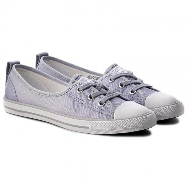 9899aa868b07 Sneakers CONVERSE - Ctas Ballet Lace Slip 555870C Blue Granite White Mouse  - Sneakers - Low shoes - Women s shoes - www.efootwear.eu