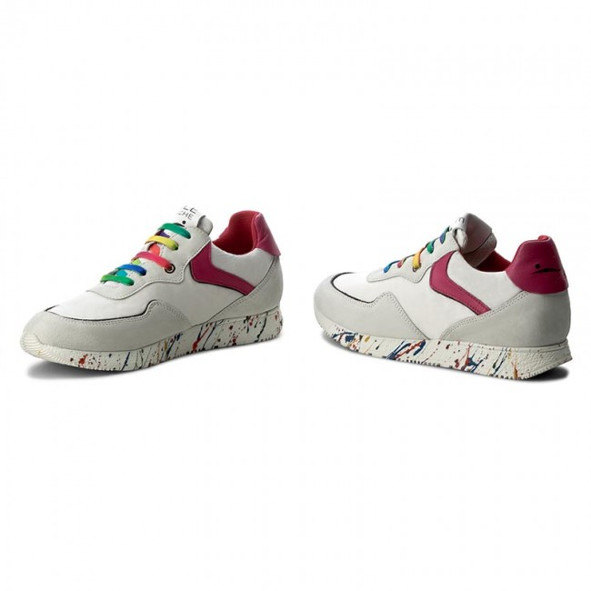 Sneakers VOILE BLANCHE Jeannie 0012011265.02.9115 BiancoFuxia