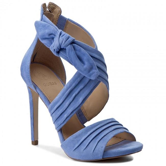 Sandals GUESS - Azali FLAZL2 SUE03 LBLUE - Elegant sandals - Sandals ... 56330ae07f