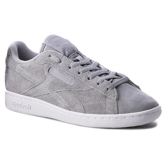 a591dec99dcec8 Shoes Reebok - Npc Uk Perf BD4608 Flat Grey White - Sneakers - Low ...