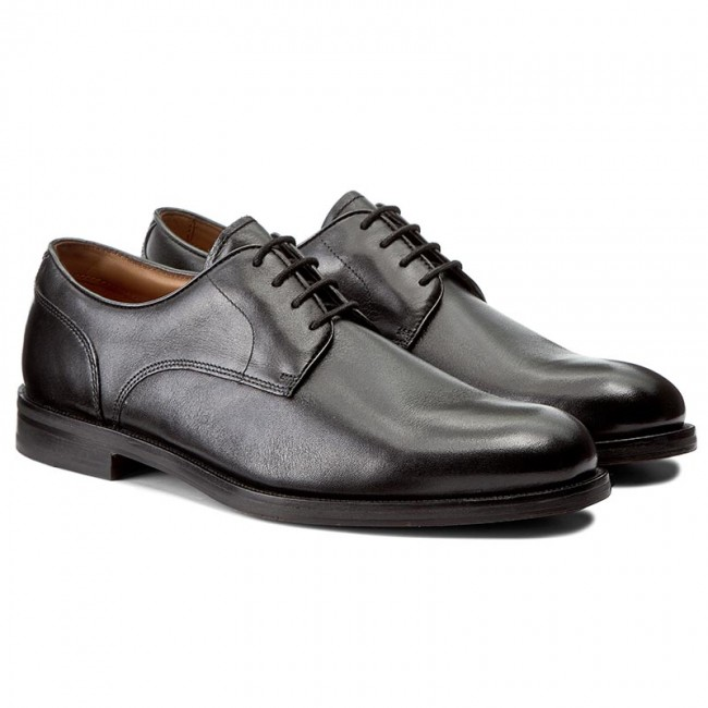 Shoes CLARKS - Coling Walk 261193517 Black Leather