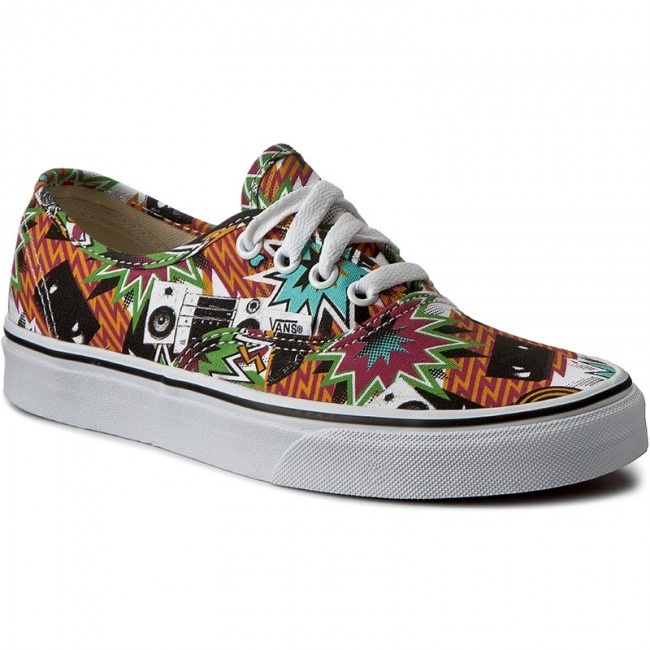 Plimsolls VANS - Authentic VN0A38EMMP7 (Freshness) Mixed Tape/Tr