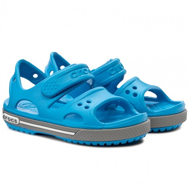 67b27363a2b0 Sandals CROCS - Crocband II Sandal Ps 14854 Ocean Smoke - Sandals - Clogs  and sandals - Boy - Kids  shoes - www.efootwear.eu