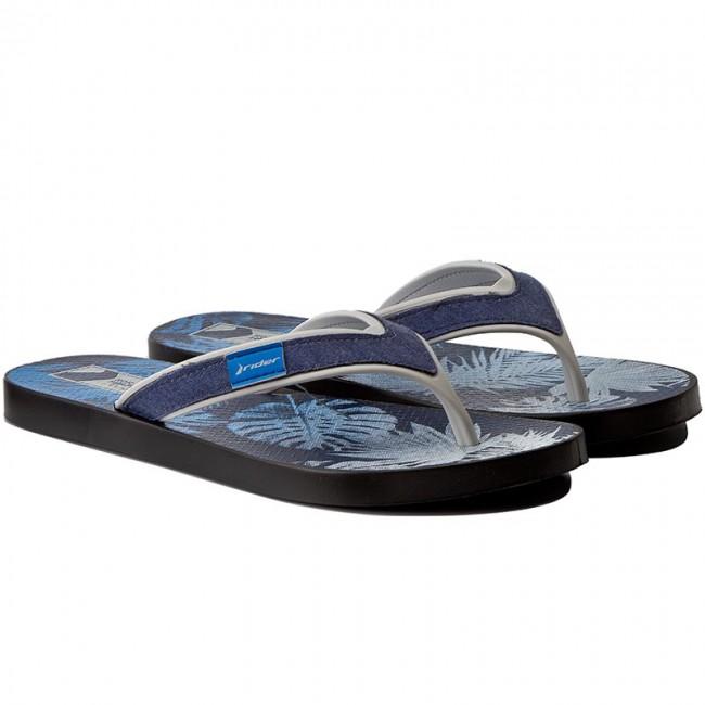 23c679627910 Slides RIDER - Shape Mix Thong Ad 11024 Black Grey Blue 23544 - Flip ...