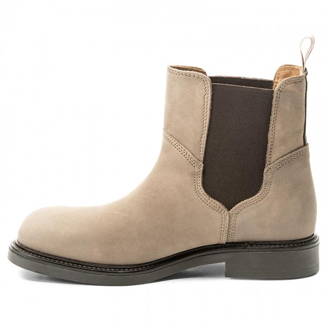 ab03d06570d23 Ankle Boots GANT - Ashley 15553121 Taupe G24 - Elastic-sides - High boots  and others - Women's shoes - efootwear.eu