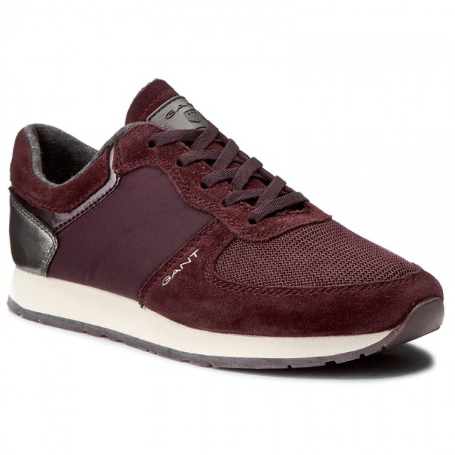 Sneakers GANT - Linda 15537978 French Roast Red G531 - Sneakers ... a0898feae